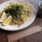 赤とんぼ - 料理写真:焼きそば レモン味付 750円