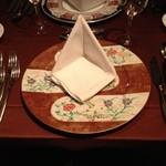 ガルニエ - テーブルセッティング