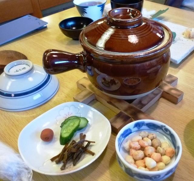 柿の葉ずし 平宗 吉野本店 - 吉野川(茶がゆ)