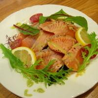 せをりぃ - 炙りサーモンの和風カルパッチョ