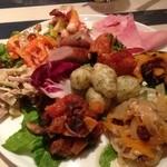 マルデナポリ - 前菜10種盛り合わせ