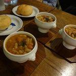 F*GICCO by F.gohan - F特製スープを3人分に分けて頂きました