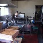 道久製麺所 - 店内
