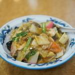 蓬莱軒 - 中華丼