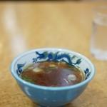 蓬莱軒 - スープ、これも美味い!