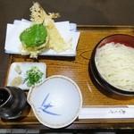 めん処 清水庵 - 細天ざる