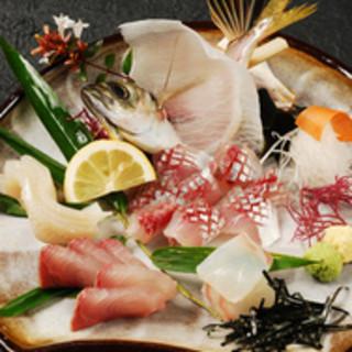 博多地魚のお造り