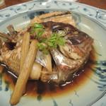 isamizushihokusai - 【鯛のアラ煮】 しっかりと味付けされてて旨し!程よい脂の乗り加減がまたいいですね!