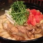【朝引き鶏すき焼き】『三味五感コース』お料理のみコース〜お料理全6品〜