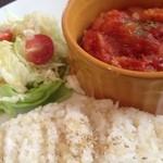 シャルトリューズカフェ - チキンのトマト煮込み
