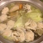 18866943 - 水炊き鍋(食べ頃)