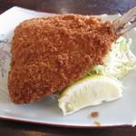 魚処丸正 - 大きなアジフライが、なんと無料サービス!