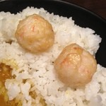 蟹専門 けいすけ 北の章 - この蟹ボールが美味しくこっちでご飯食べれる