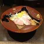 蟹専門 けいすけ 北の章 - 渡り蟹の味噌らーめん(850円)