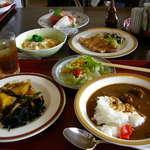 農家レストラン さん食亭 - 2007北上牛のカレー&チョイスメニュー