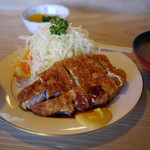 とんかつ めぐろ - 料理写真:ロースかつ定食~☆