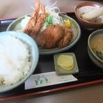 函館とんき - 2013/05 とんき定食A 1050円
