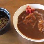 農家レストラン さん食亭 - ライスは古代米にしました