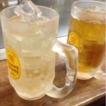 たむちゃん - ジンジャエールとウーロン茶