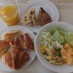 岩国プラザホテル - 朝食バイキング