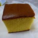 福砂屋 - 料理写真:キューブ中身のカステラ