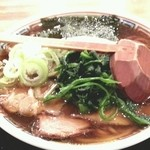 18872569 - 越後長岡濃口醤油中華そば大盛り(無料)2013.5