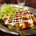 インデアンカレー 本店 - 野菜玉子カレー630円