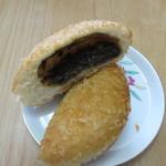 ラビころ - 名前の通り中にはじっくりと煮込まれた黒いカレーの入ったちょっと大人のカレーパンです。