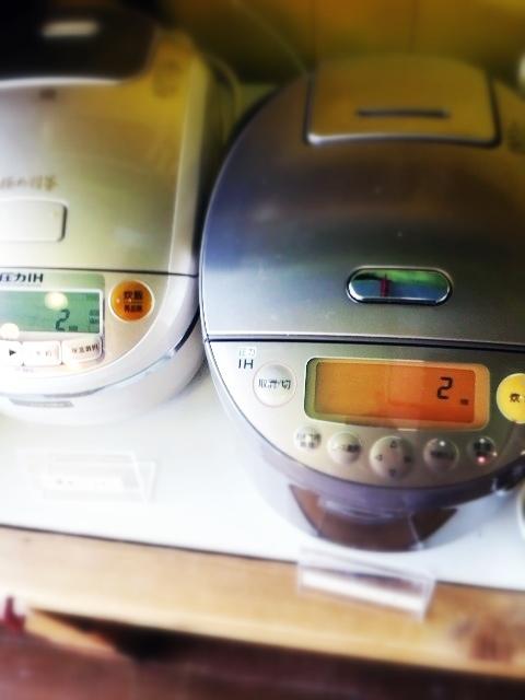 玄米カフェ - ご飯はセルフで