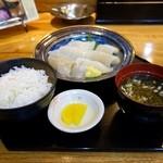 18875616 - 朝イカ定食 1,050円