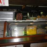 仙台 あべちゃんの店 - カウンター越しの社長