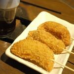 えこひいき - 餃子串カツ