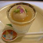 18878228 - 鯛の白子と豆乳のムース
