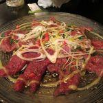アジト - 桜肉のカルパッチョ