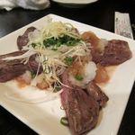 アジト - 牛ステーキみぞれ野菜