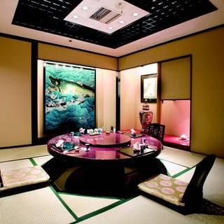 贅沢な中華を個室でごゆっくりお楽しみください。