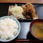 潮見軒 - イカフライ定食