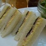 18881030 - (2013/4月)モーニングサンドイッチセットのサンドイッチ