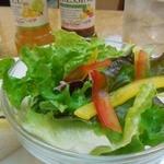 18881031 - (2013/4月)モーニングサンドイッチセットのサラダ