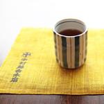 中村藤吉 - 挽きほうじ茶とオシャレなランチョンマット。 '13 5月上旬