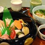 あす花亭 - 江戸前にぎり寿司セット