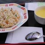 サンエイト美都 - 山菜ピラフ(スープ付)
