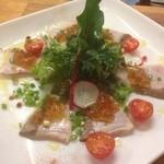 banchettare - 直送で届く新鮮な魚をカルパッチョで!日によって変更する旬の魚をご堪能頂けます!