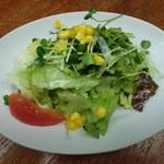 ジ アース カフェ - パスタランチのサラダ