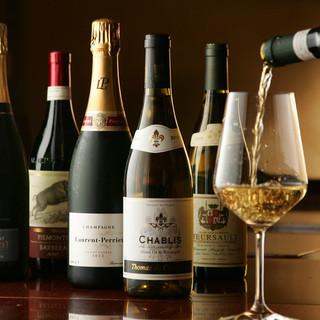 ワールドワイドなワイン達が50種類以上!