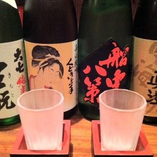 日本酒を多数揃えています☆