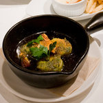 ハイヴカフェ - 海老とホタテの香草パン粉焼き