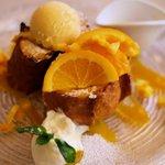 Yocco's French Toast Cafe - オレンジとマンゴー