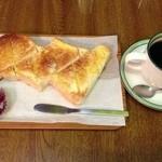 マーブル - バタートースト&コーヒー