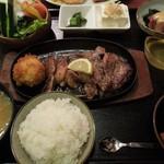 レストラン 沙羅沙 - (2013/4月)「辛口ステーキ中華風ソース」の全景